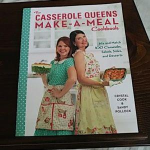 """Casserole Queens Cookbook """"Make-a-Meal"""""""